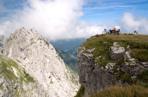 Na szosowy dach Słowenii – pod Mangart