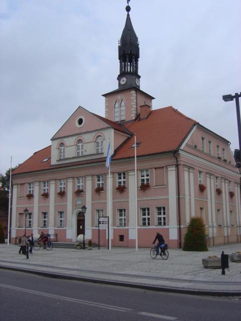 Pszczewski Park Krajobrazowy - Ratusz w Międzyrzeczu