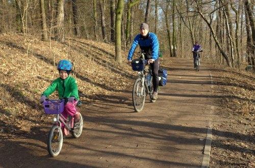 Zimową porą rowerem na lody? Czemu nie?