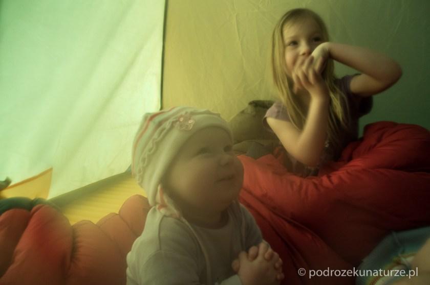 Namiotowe zabawy