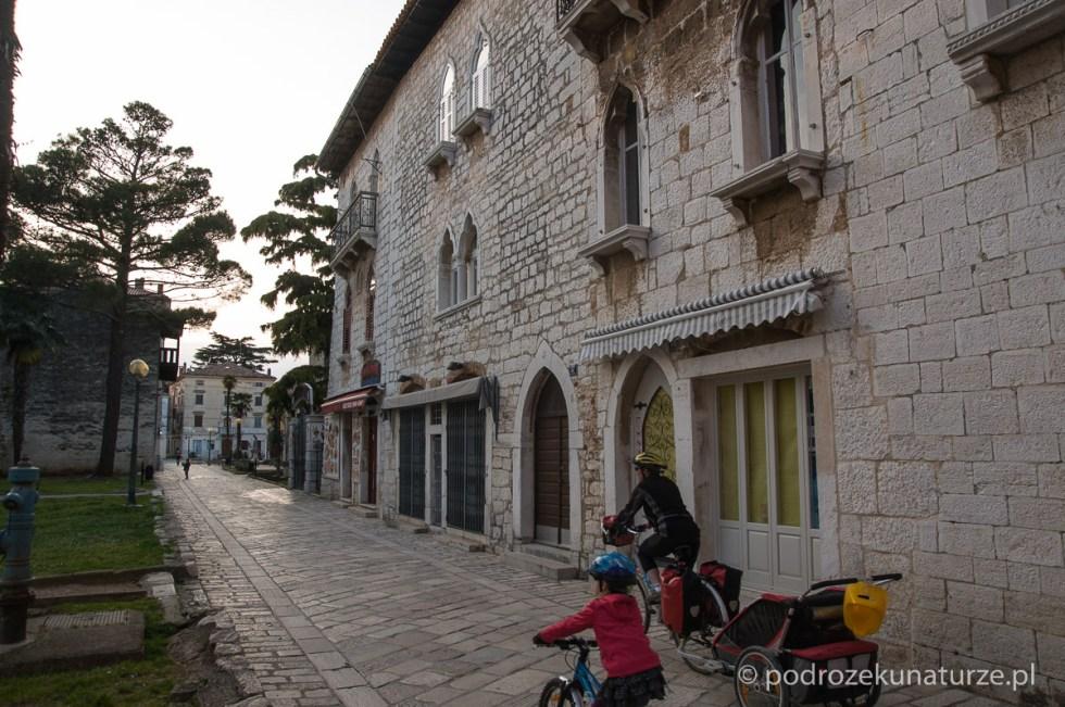 Na starych uliczkach Poreca