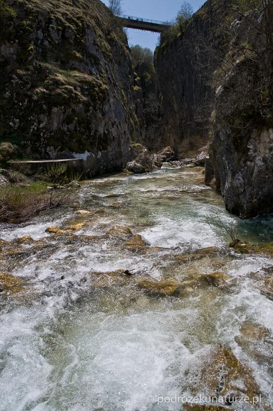 Most ponad kanionem Nevideo