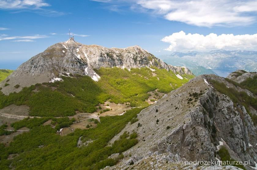 Widok z Jezerskego vrhu na Štirovnik