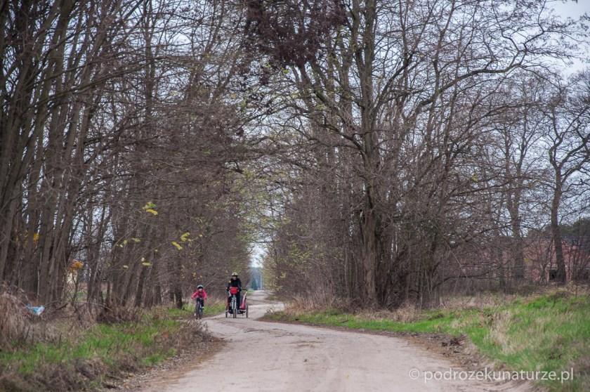 Dziewczyny na trasie w okolicach Skrzynek
