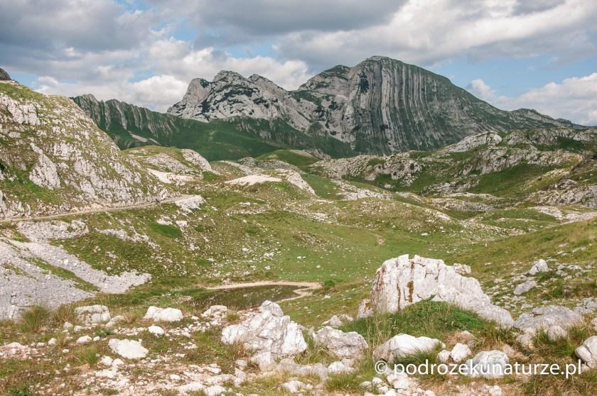 Prutaš - jeden z bardziej charakterystycznych szczytów po drodze