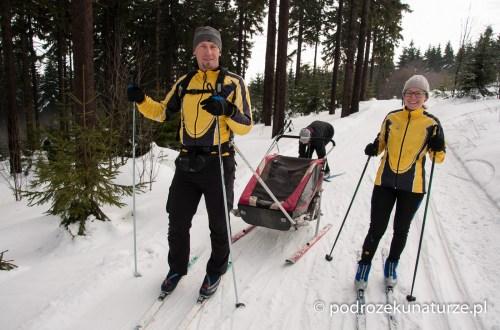 Na lyžařskiej stopie