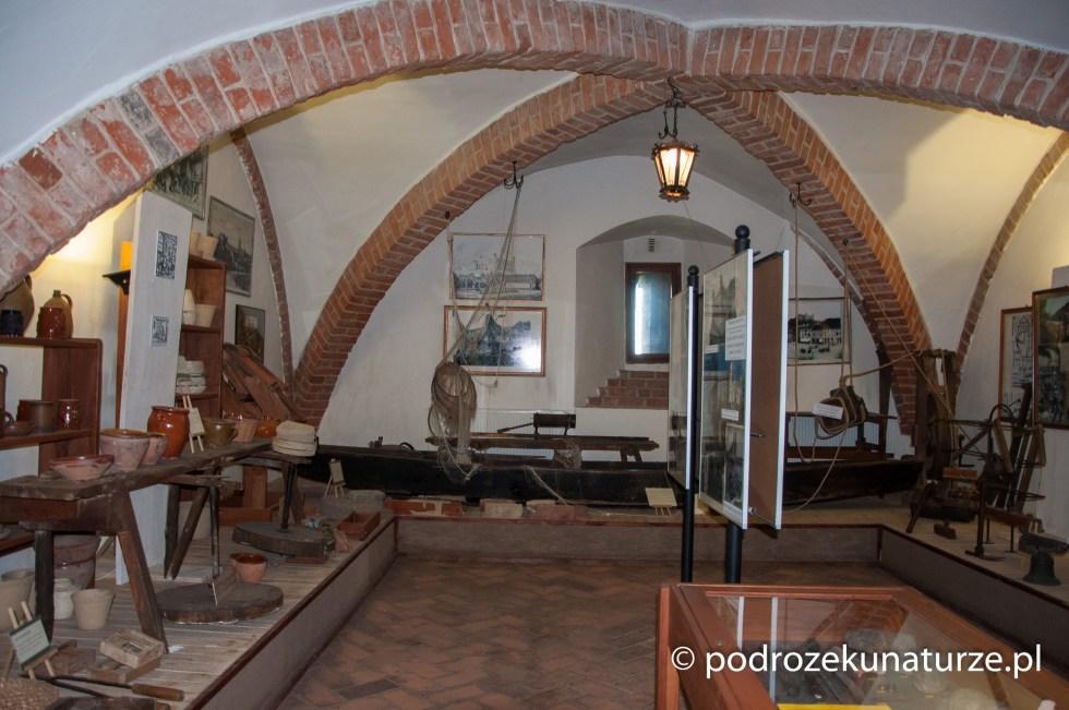 Wnętrza zamku w Golubiu Dobrzyniu
