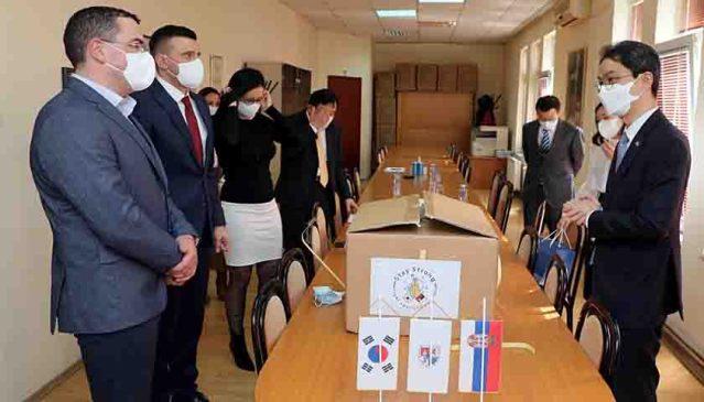 Ambasador Republike Koreje uručio donaciju palanačkom Domu zdravlja