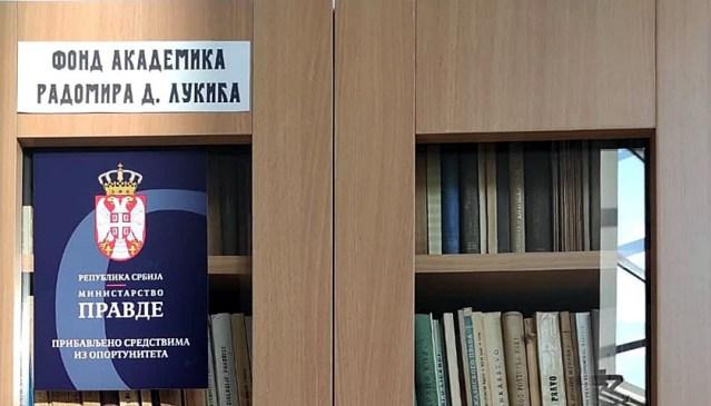 """Od novca iz oportuniteta nove celine u Biblioteci """"Radoje Domanović"""""""
