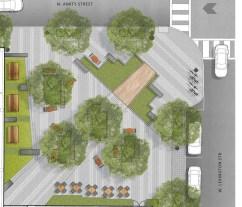 Park rendering, courtesy of La Cite.