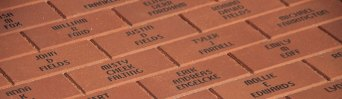 Personalized, engraved pavers