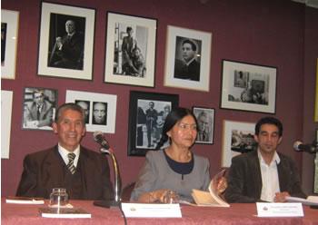 Torrejón Jurado, Luzmila Carpio (Embajadora), Patrik Duque-Estrada (París)