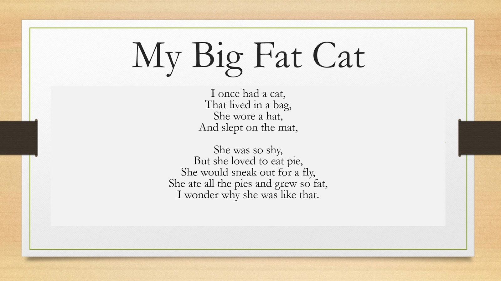Fat Poems