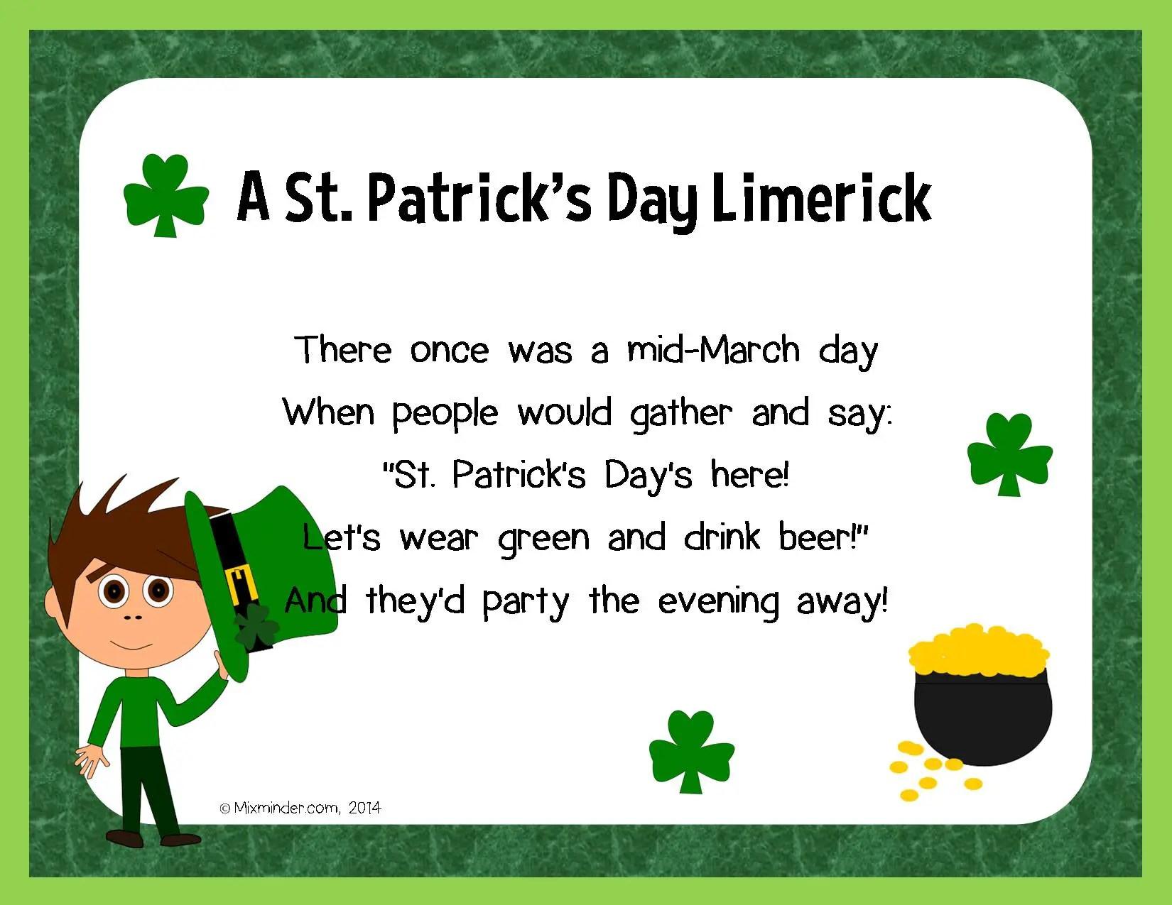 St Patrick S Day Poems