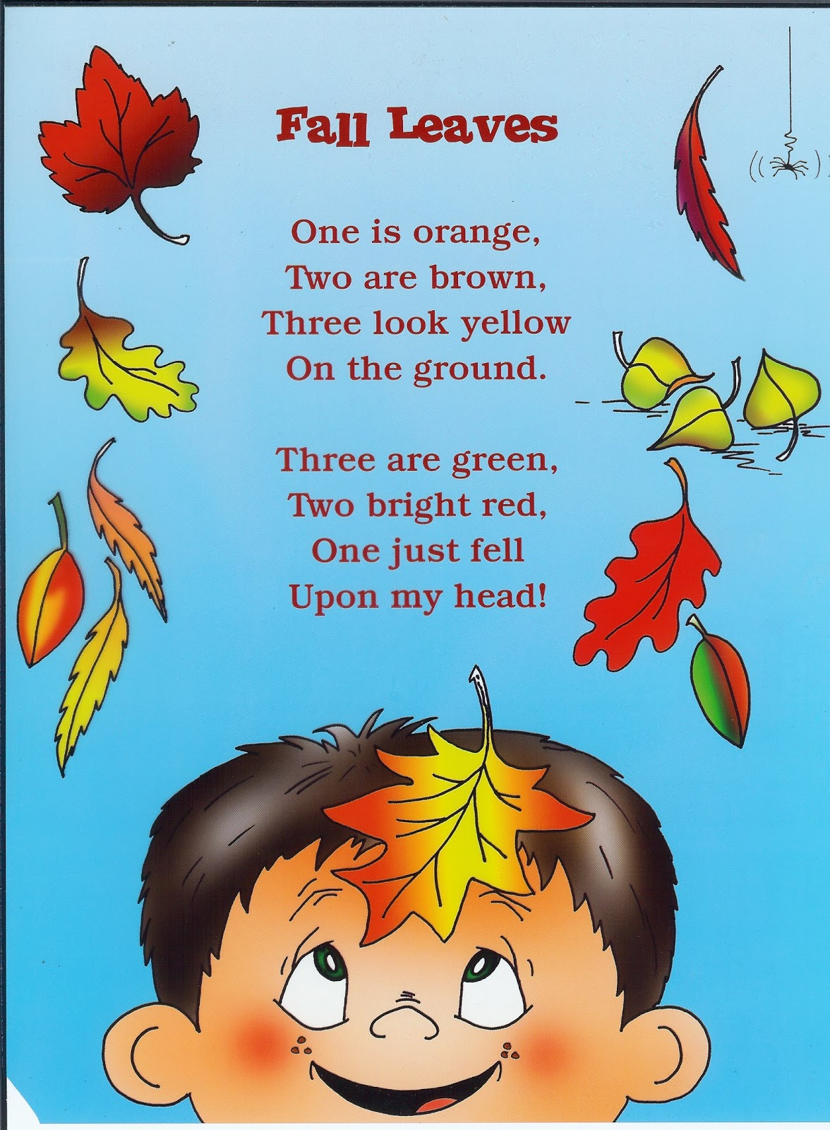 Rhyming Fall Poems