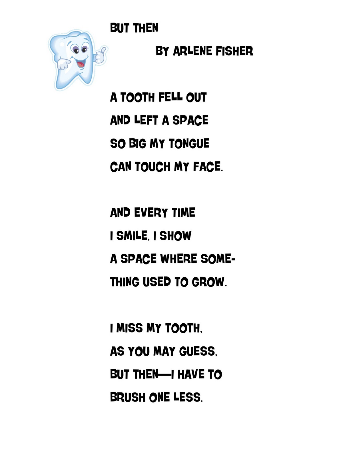 Dental Poems