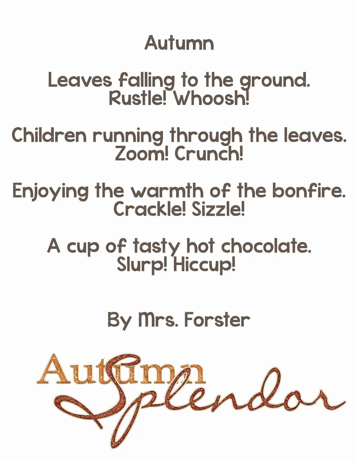 Short Onomatopoeia Poems