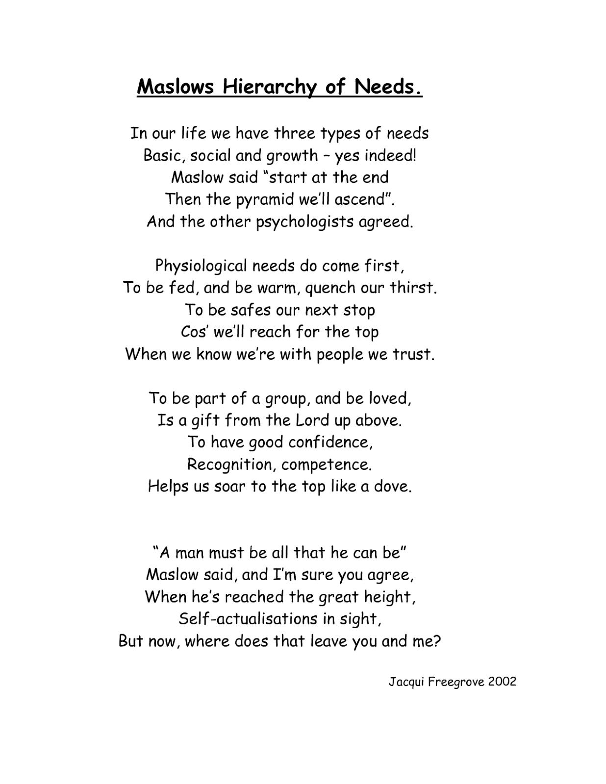 Opposites Poems
