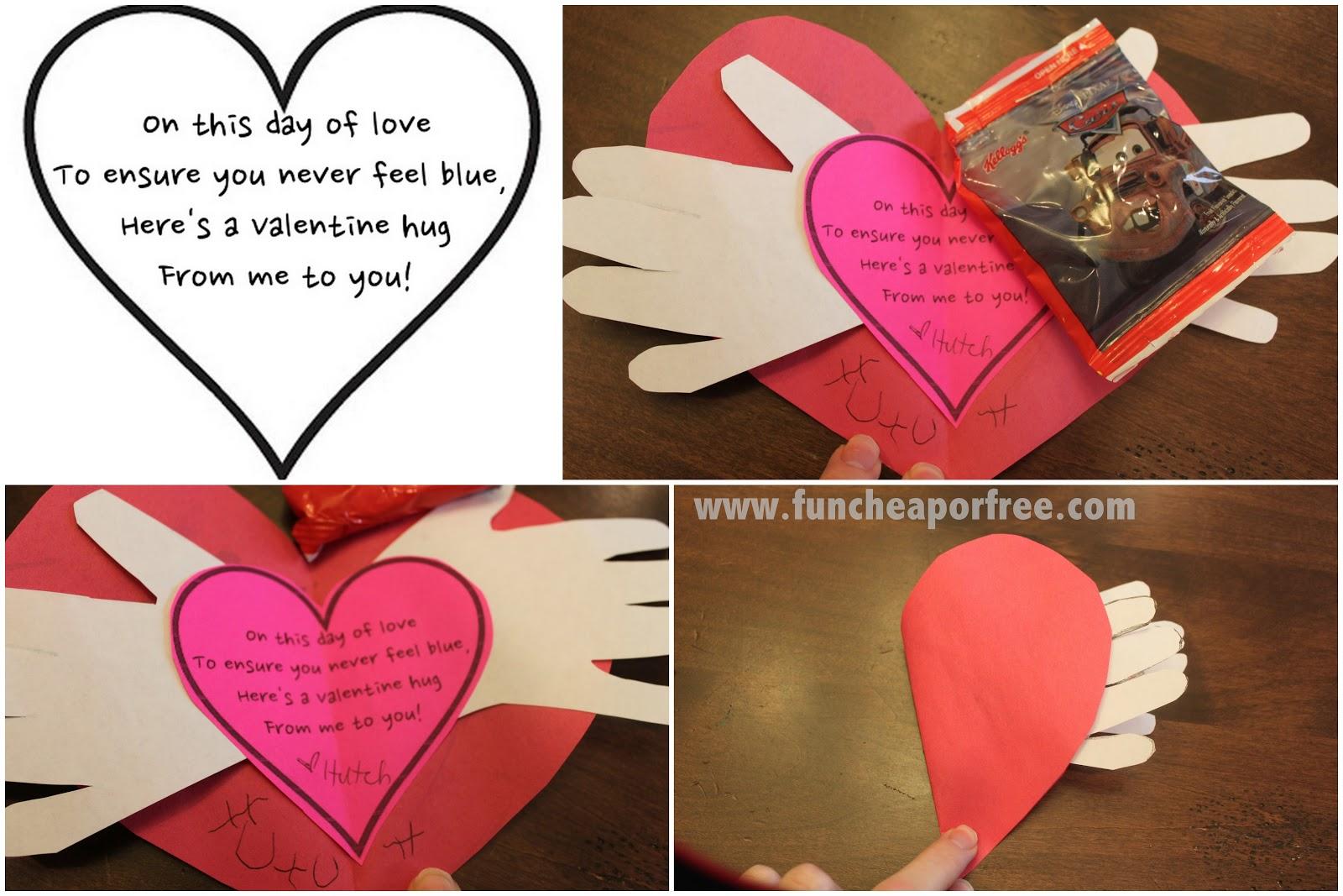 Preschool Valentine Poems