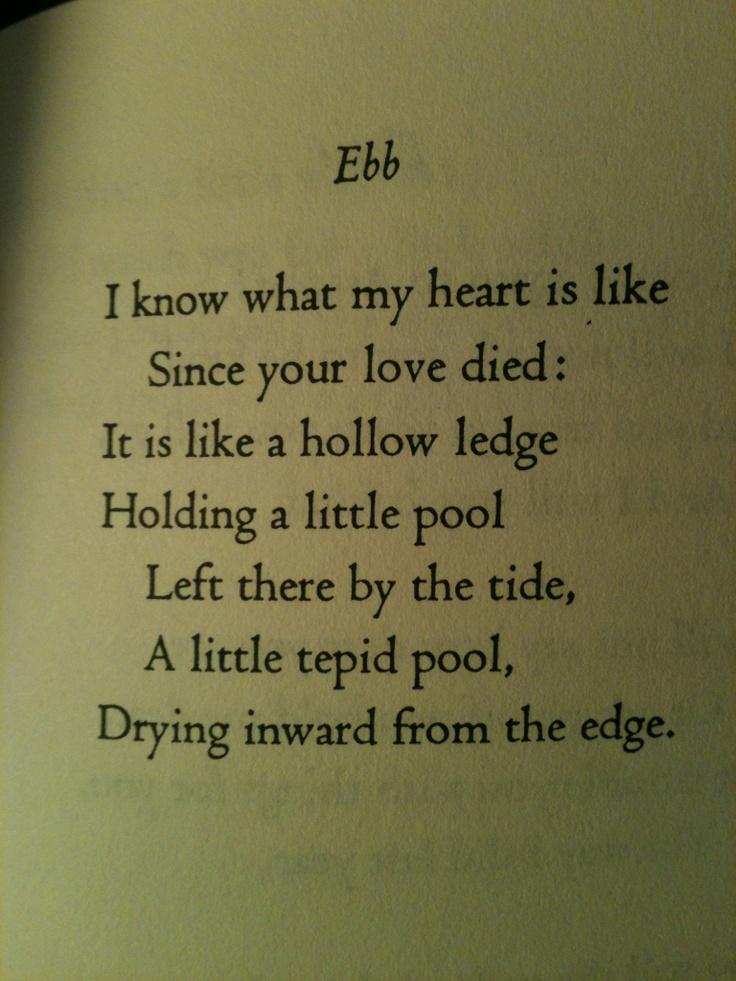 Sad Poems Depression