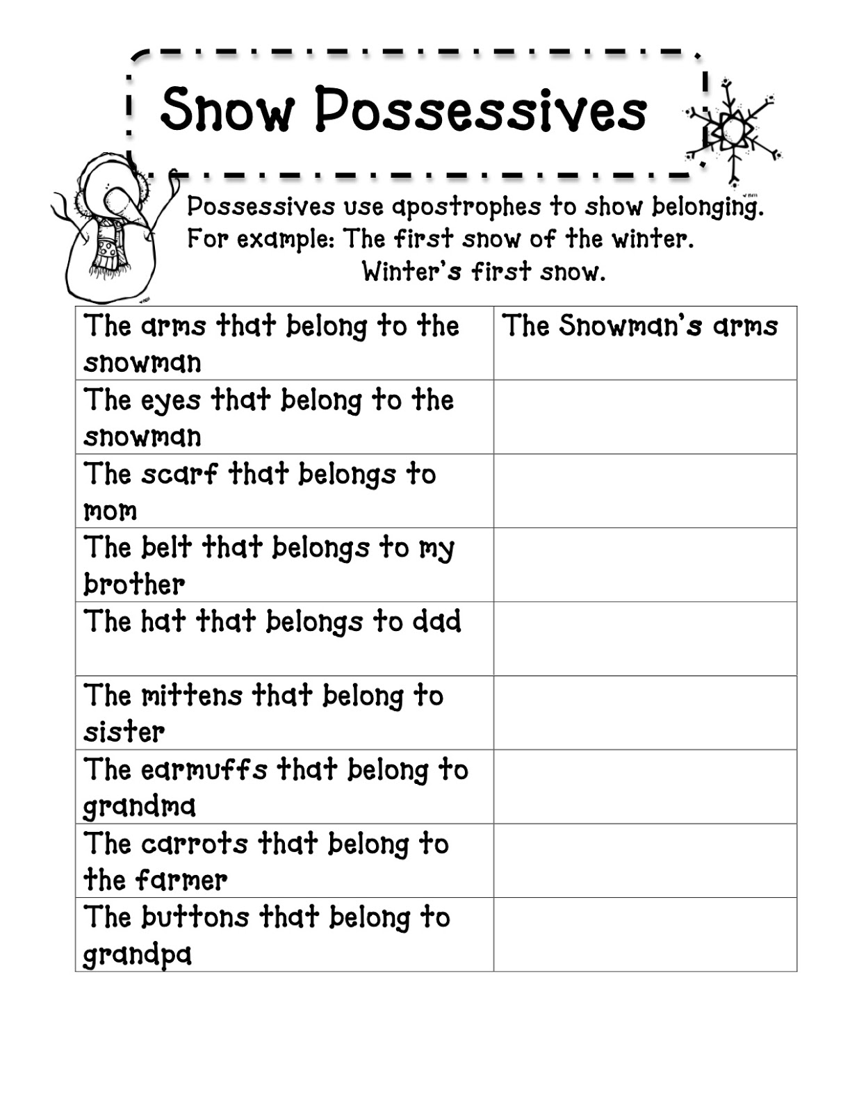 Noun Poems