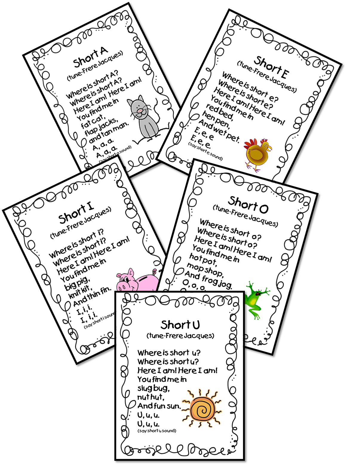Vowel Poems