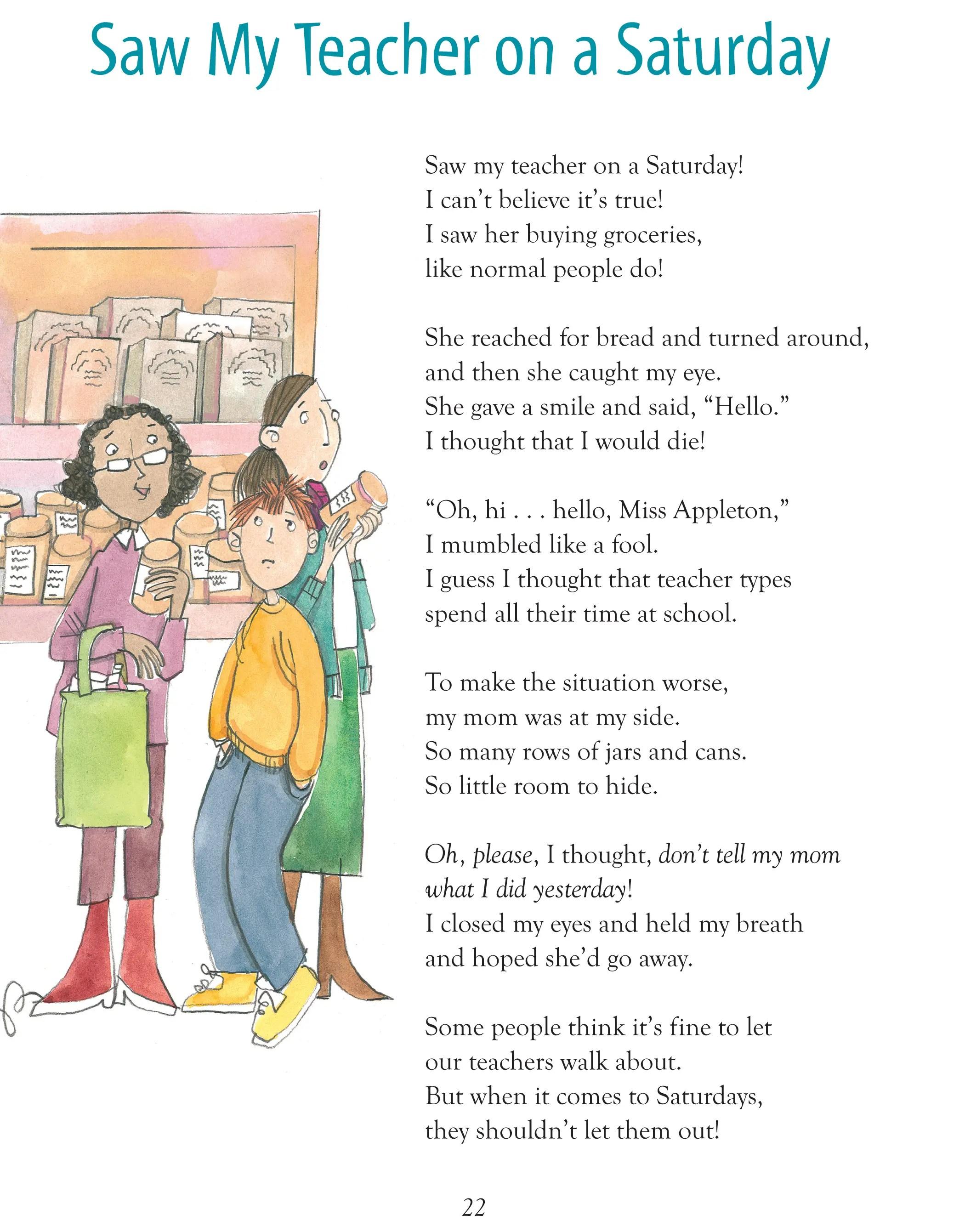 Kids Funny Poems