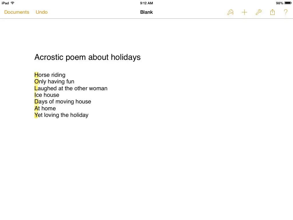 Rosa Park Poems