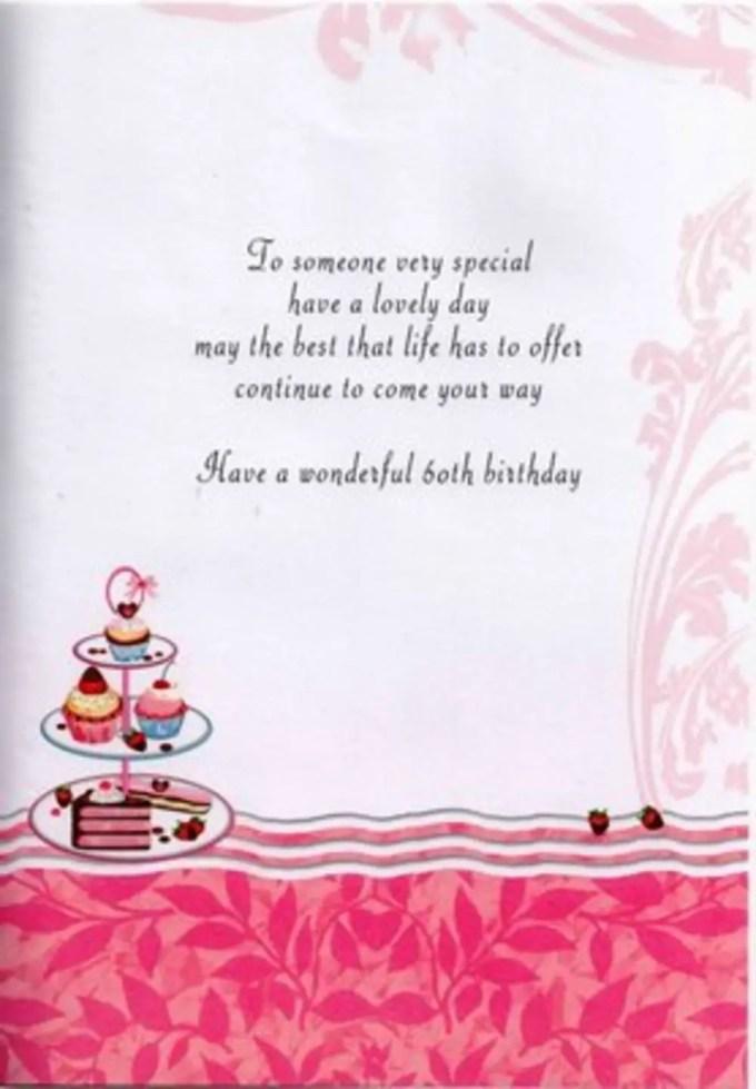 60th Birthday Poems For Females Textpoems