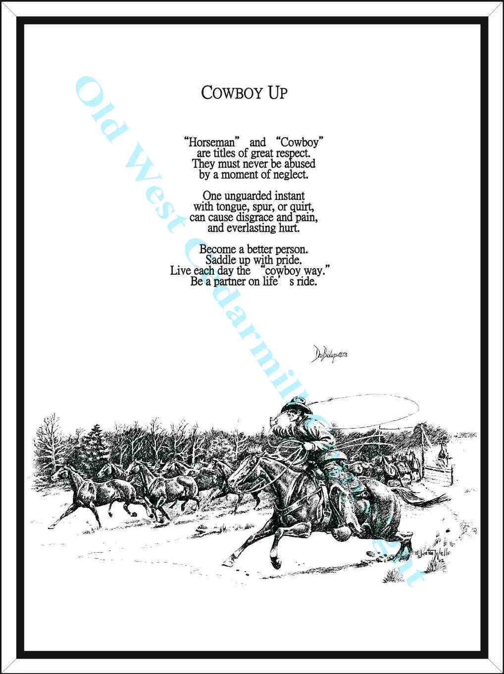 Cowboy Funeral Poems