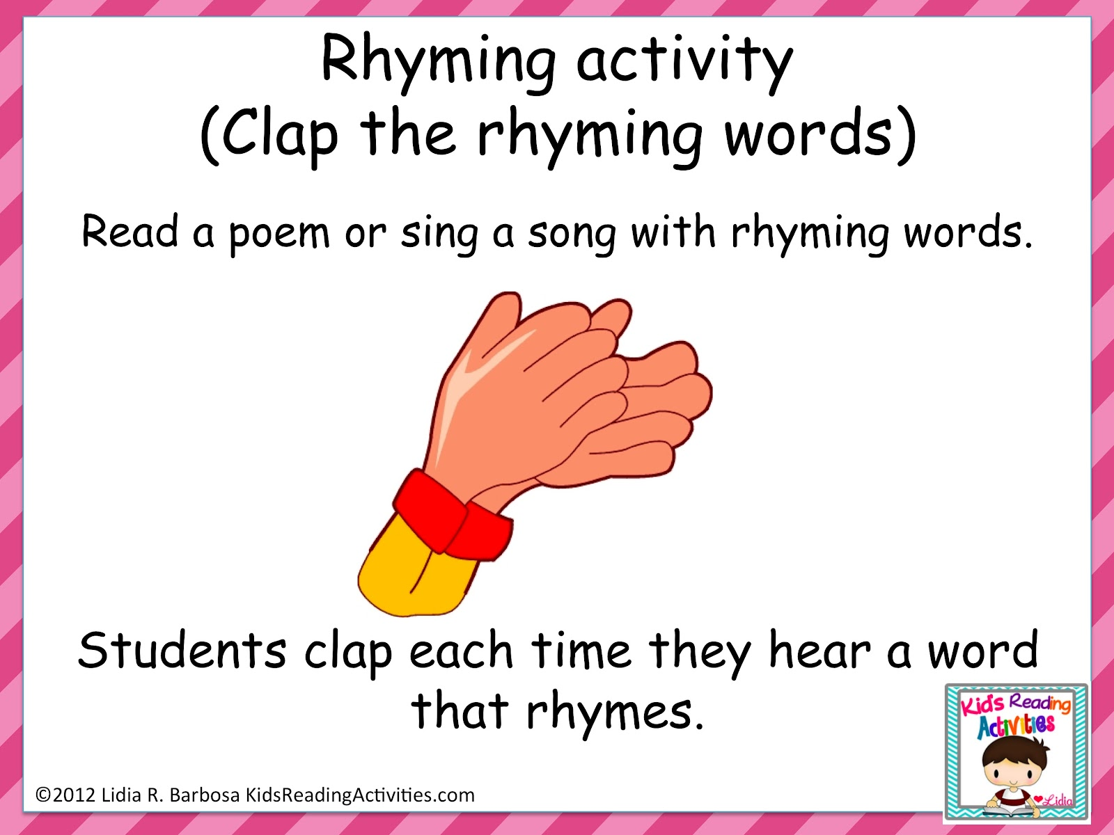 Rhyming Words For Poems