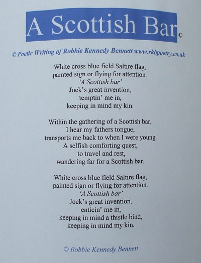 Scottish Wedding Poems