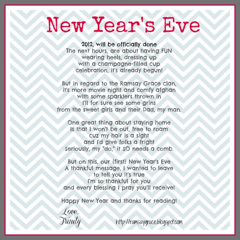 Funny Poems For New Years Eve | Poemdoc.or