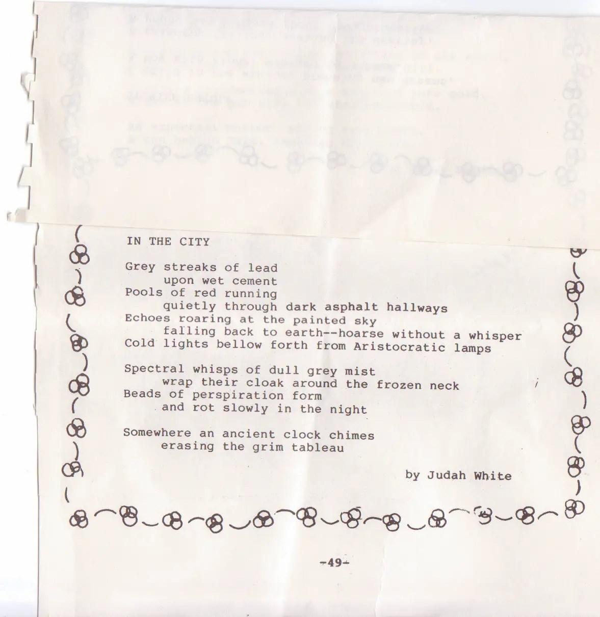Highschool Poems