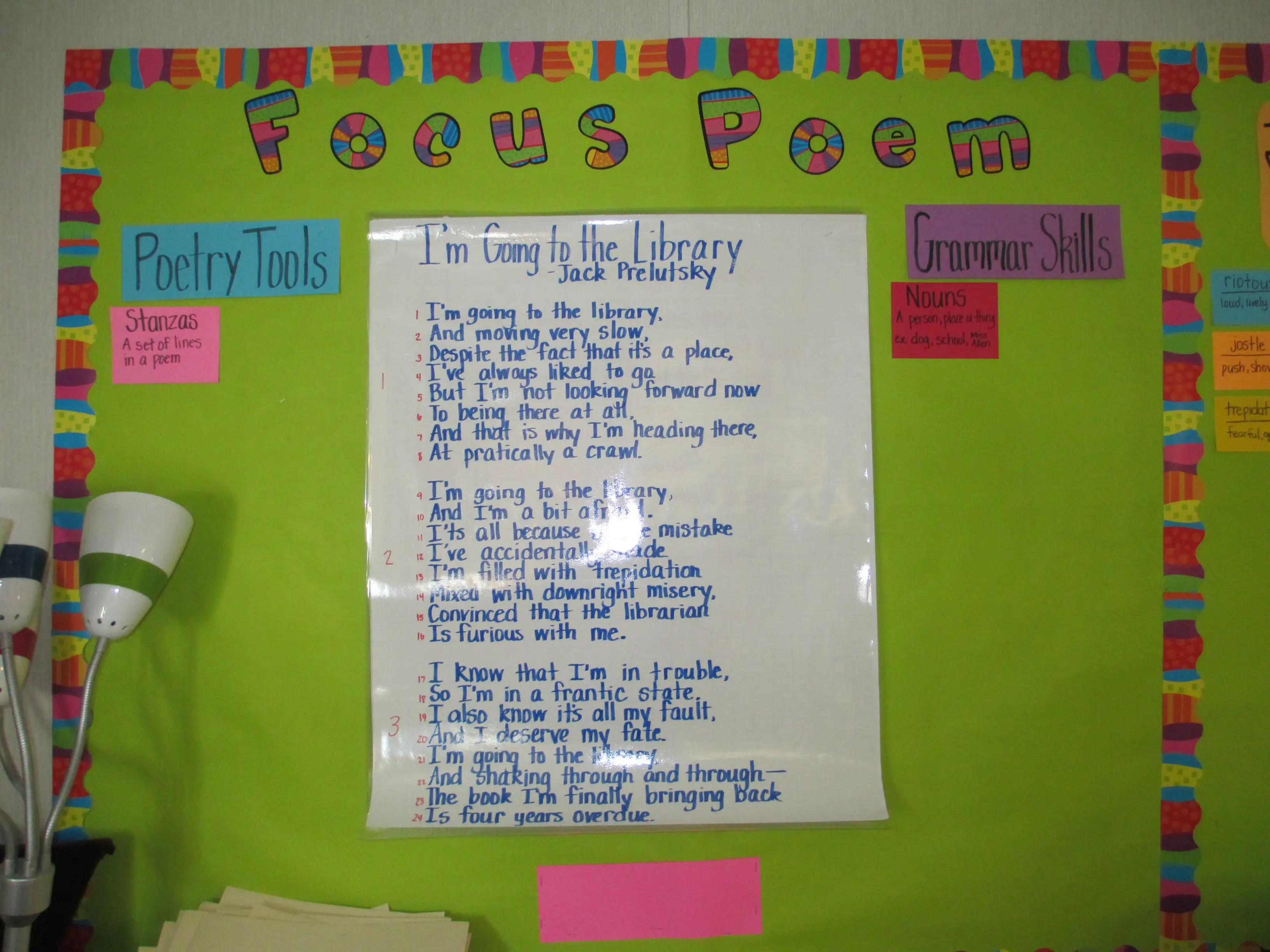 Focus Poems