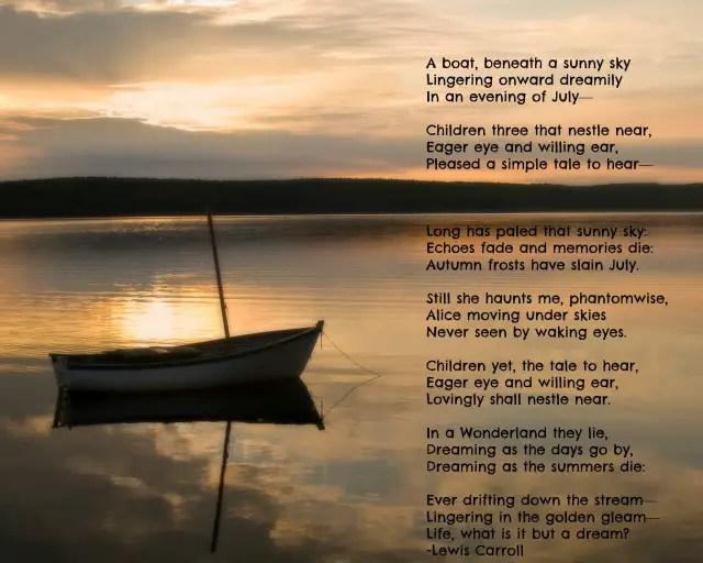 Famous Sunrise Poems