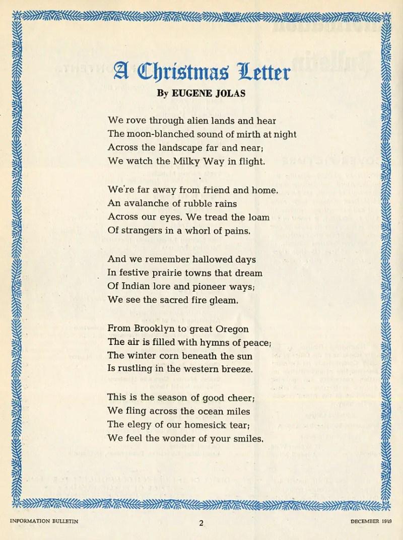 Christmas Poems For Church Bulletins   Christmaswalls.co