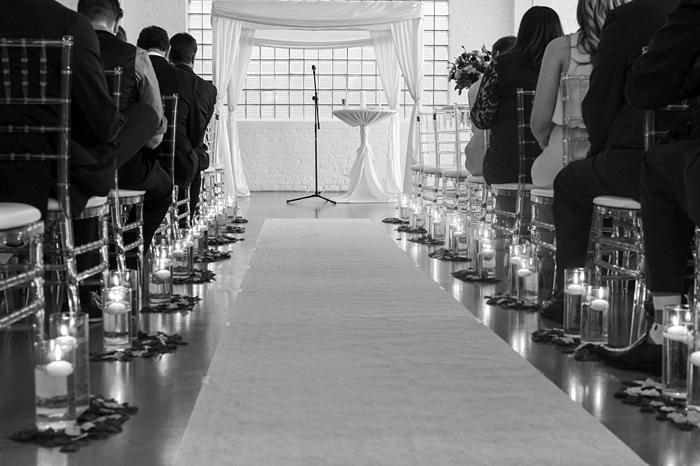 room 1520 Chicago loft wedding