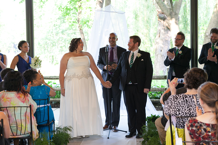 Wedding Ceremony at the Lincoln Park Zoo