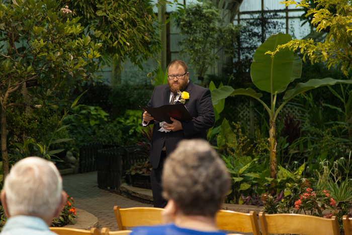 Chicago Lincoln Park Conservatory Wedding