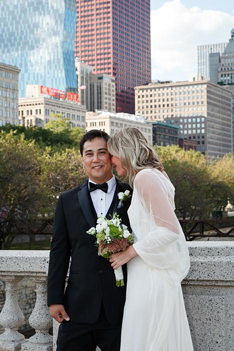Downtown Chicago Wedding Photos