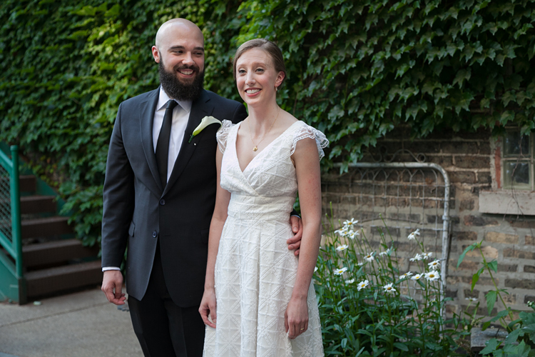 Kelsey & Dale - Chicago Firehouse Wedding