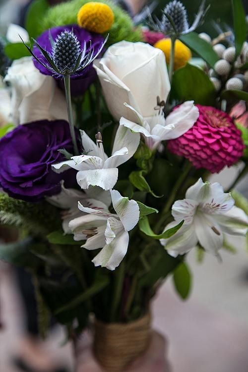 Kelsey's Wedding Bouquet