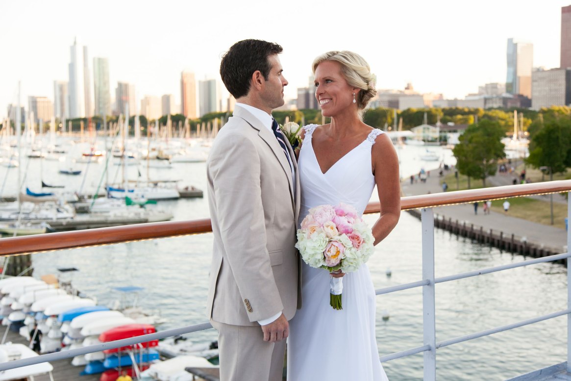 Wedding at the Columbia Yacht Club