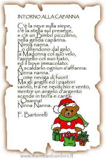 Quando eravamo piccoli ciascuno di noi imparava e recitava le poesie di natale. Poesie E Filastrocche Di Natale Per La Scuola Dell Infanzia