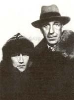 И.Северянин и Ф.Круут в 1931 г.