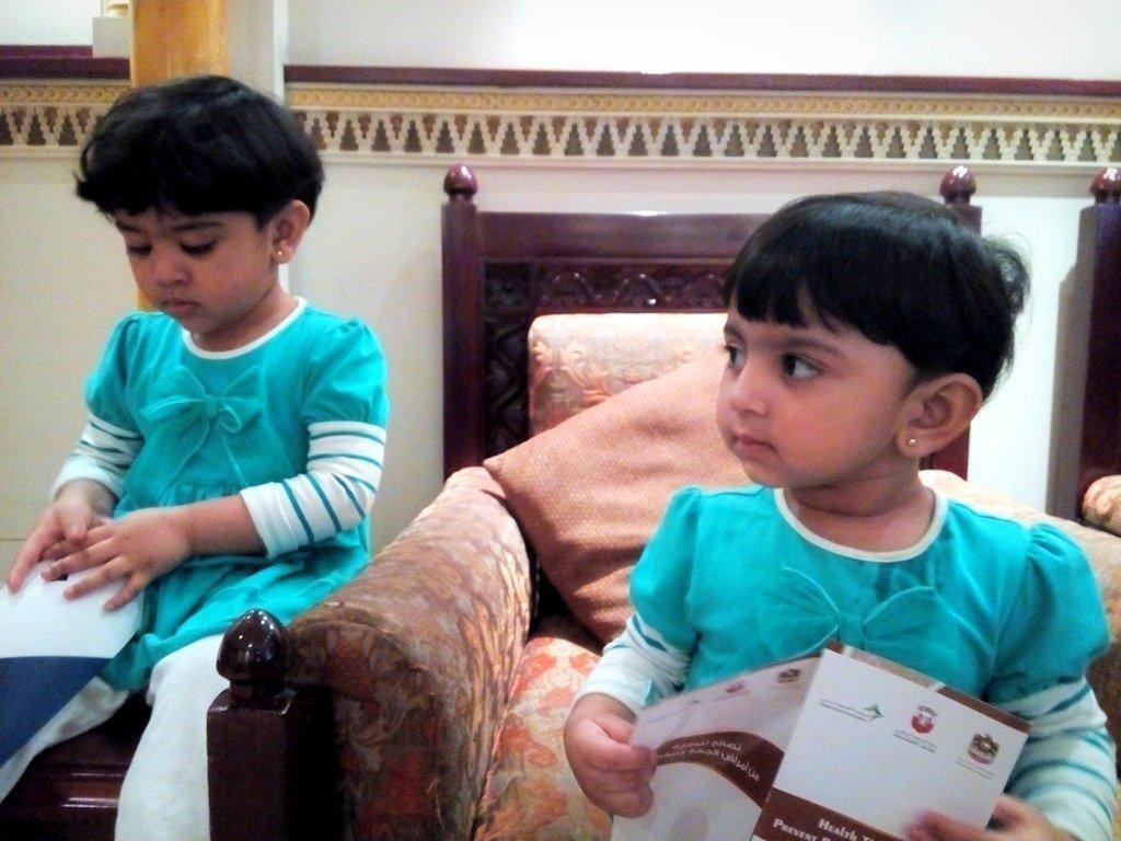 Daughter poems   I love my daughters   Utaybah & Umaiza   Pakistan