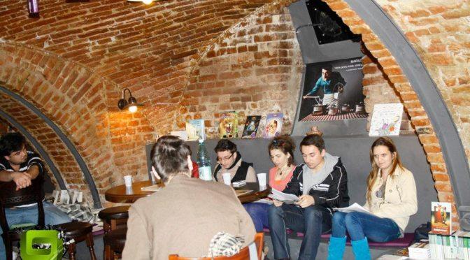 Atelierul de poezie relaţională> CUM S-A ÎNTÂMPLAT atelierul de poezie de la Timişoara din Studentfest
