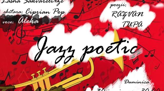 """""""poemul meu cu dumnezeu"""" asta seara cu free jazz la Tramvai 26, daca tot a fost vorba de Titus Corlatean, Ministru de Externe drept-credncios ridicat impotriva drepturilor minoritatilor. pentru echilibrare."""