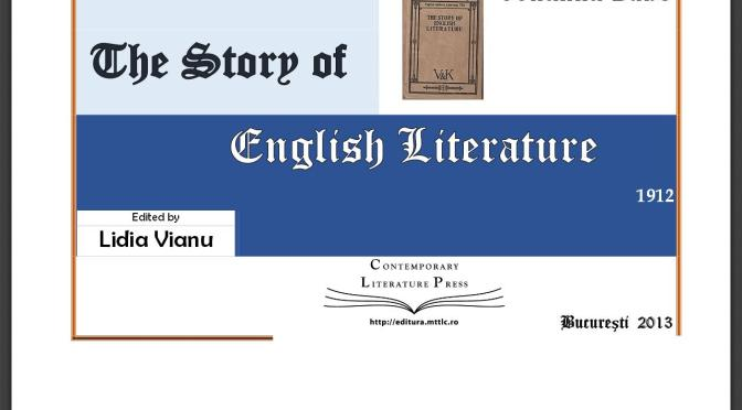 The History of English Literature, 100 Years Ago (free e-books online)